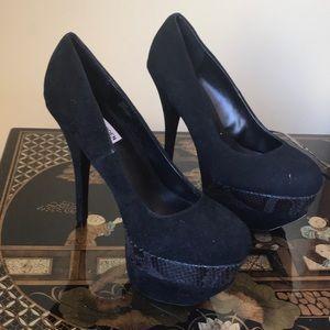 Steve Madden 8.5 leather stilettos 👠